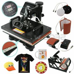 5 In 1 Digital Heat Press Machine Sublimation For T-Shirt/Mu