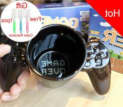 1 Pcs Creative Gamepad Cup, personalized shape coffee milk B