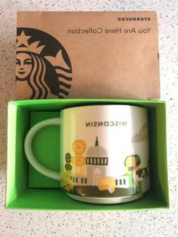1 st Edition Starbucks Wisconsin You Are Here 14 oz Mug SKU
