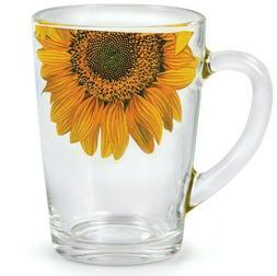 10 fl oz Glass Mug Tea Coffee Cup Teacup Durable Top Quality