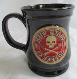 DEATH WISH COFFEE CO 10-oz 2016/2017 BLACK WITH RED LOGO MUG