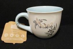 "10 Ten Strawberry Street Mugs- Extra Large Coffee Mug- ""THE"
