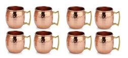 100% Authentic HAMMERED COPPER MOSCOW MULE SHOTS MUG  2-Ounc