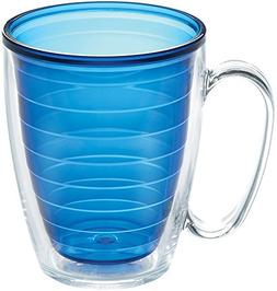 Tervis 1081879 Clear & Colorful Insulated Tumbler, 16oz Mug,