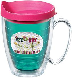 Tervis 1089985 Hallmark - Mom Flower Tumbler with Emblem and