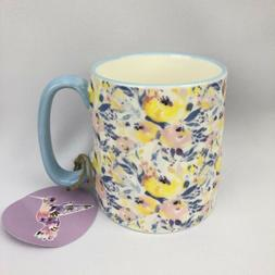 10ss 10 Strawberry Street Coffee Mug Floral Regular Size