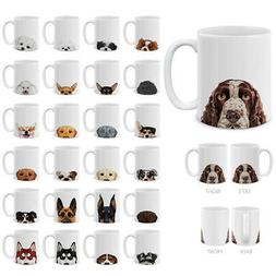 11 OZ Dog Design Ceramic Travel Mug Home Water Tea Coffee Cu