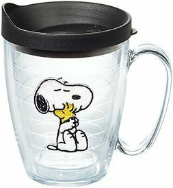 Tervis 1140860 Peanuts - Felt Tumbler with Emblem and Black