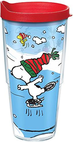 Tervis 1160179 Peanuts - Snoopy Christmas Tumbler with Wrap