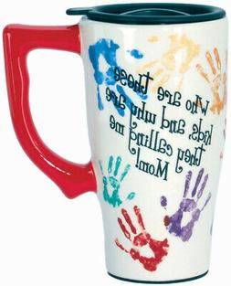 SPOONTIQUES 11787  WHO ARE THESE KIDS..TRAVEL MUG