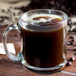 Set of 6 Libbey 5213 Clear 13 oz Warm Beverage Mug w/ Signat