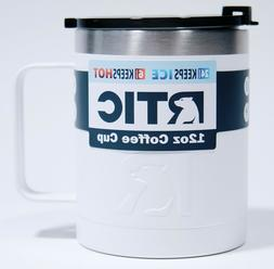 RTIC 12 oz. Stainless Steel Vacuum Insulated Coffee Cup Whit