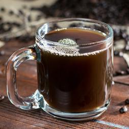 Libbey 10 oz. Warm Beverage Clear Glass Round Coffee Mugs