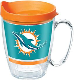 Tervis 1257382 NFL Miami Dolphins Legend Tumbler with Wrap a