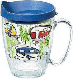 Tervis 1259435 Retro Camping Insulated Tumbler with Wrap and