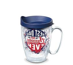 Tervis 1262017 Dad Splatter Tumbler with Wrap and Navy Lid 1