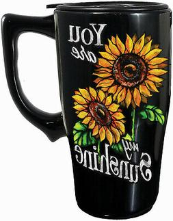 SPOONTIQUES 12744 YOU ARE MY SUNSHINE TRAVEL MUG