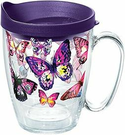 Tervis 1284672 Butterfly Passion Tumbler with Wrap and Royal