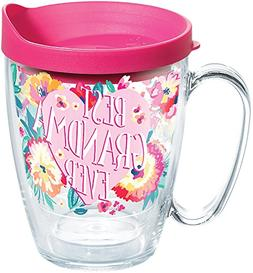 Tervis 1286456 Best Grandma Ever Floral Tumbler with Wrap an