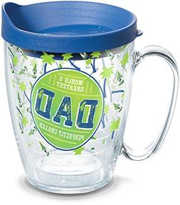 Tervis 1295359 Perfectly Chilled Dad Tumbler with Wrap and B