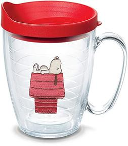 Tervis 1301971 Peanuts-Snoopy Insulated Tumbler with Emblem