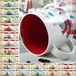 14oz Coffee Cup You Are Here Collection London Japan Paris S