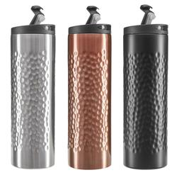 14oz stainless steel double wall insulated travel