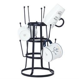 15 Hooks Mug Tree Holder Coffee Cup Tea Drying Rack Stand St