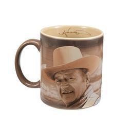 """Vandor 15067 John Wayne """"Fine Morning"""" 12 oz Ceramic Mug, Br"""