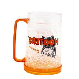 Hooters 16 oz Plastic Crystal Freezer Mug - Cancun