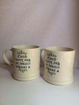16oz Porcelain Don't Get Your Tinsel In A Tangle Mug - Thres