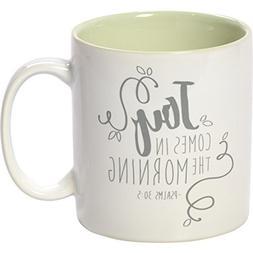Precious Moments 173414 Green Stoneware 11oz Coffee Mug Insp