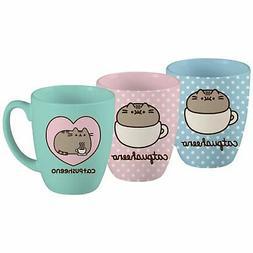 Pusheen The Cat Mug Polka Dot Heart Catpusheeno Large Coffee