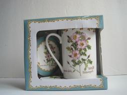 Kent Pottery 1887 Coffee Mug With Lid NWB