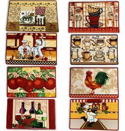 18x28 Decorative Kitchen Home Food Prints Rug Floor Mat Carp