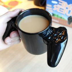 1PC Personality Handle Coffee Milk Game Over Cup Gamepad Con