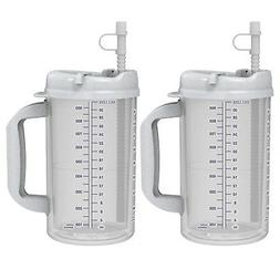 32 oz Whirley Insulated Mugs with Granite lids  FREE SHIPPI