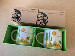 Starbucks Coffee CALIFORNIA 14oz Mug Cup 2013 You Are Here