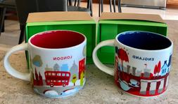 2 Starbucks London & England UK You are Here YAH Collector M