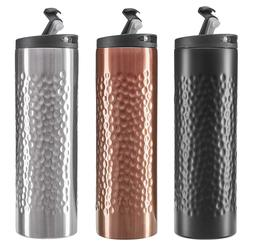 2 Pack Stainless Steel Travel Mugs Double Wall Vacuum Insula