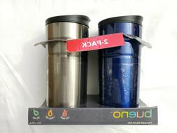 2 pack vacuum insulated travel mugs tea