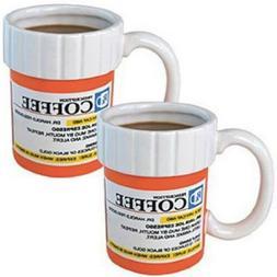 Prescription Mug Pill Bottle Coffee Cup Pharmacy Rx - Medic
