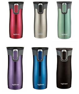 2 X Contigo West Loop Thermos Coffee Water Travel Mug Drink
