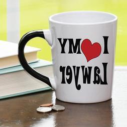 'I Love  My Lawyer' 20 0z. Stoneware Ceramic Mug by Tumblewe
