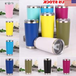 20 oz Stainless Steel Vacuum Tumbler Insulated Travel Coffee