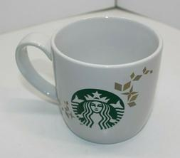 2013 Starbucks Holiday Collection Gold Accents Green Siren 1