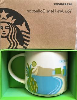 Starbucks 2013 You Are Here mug Brussels Las Vegas Netherlan