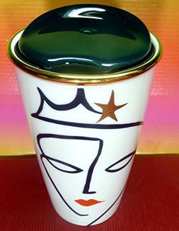 Starbucks 2015 Collectible Anniversary Crown Siren Ceramic T