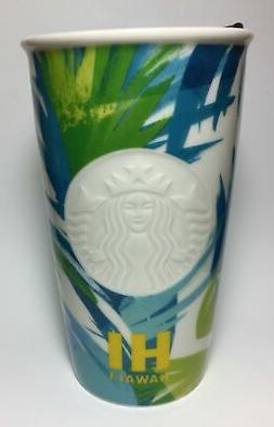 Starbucks 2016 Dot Collection Hawaii Limited Ceramic Travel
