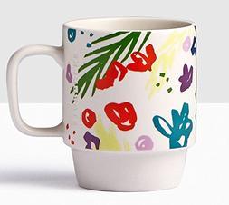 2016 Starbucks Spring Floral Mug 12 Oz